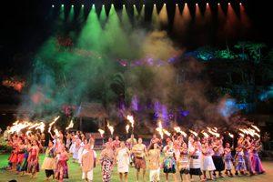 世界最大のポリネシアンショーが見れる「ポリネシア・カルチャー・センター」の「ハァ・ブレス・オブ・ライフ」